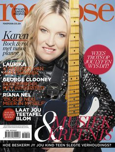 Lesersforum November 2019 Agter die skerms met Karen Zoid Foto Shoot, Beautiful Cover, George Clooney, Digital, Words, Rose, November 2019, Biscuits, African