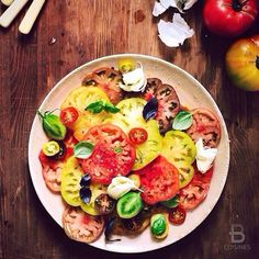 ▃▃▃▃▃▃▃▃▃▃▃▃▃▃▃▃▃▃▃▃ ✽ Healthy Monday, Heirloom Tomato Salad ✽ Credits: @SLICEOFPAI ▃▃▃▃▃▃▃▃▃▃▃▃▃▃▃▃▃▃▃▃ Follow us: @BeautifulDestinations, @BeautifulHotels & @BeautifulMatters!  ▃▃▃▃▃▃▃▃▃▃▃▃▃▃▃▃▃▃▃▃ TAG YOUR FOOD PHOTOS AND VIDEOS WITH: #BEAUTIFULCUISINES❗❤ ▃▃▃▃▃▃▃▃▃▃▃▃▃▃▃▃▃▃▃▃