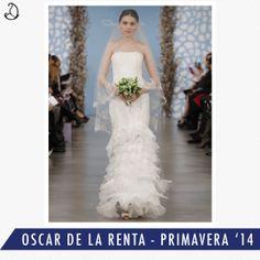 #Vestido #Dress #Bodas #Wedding #Novia #Bride #PortalNovia  Especial : Oscar de la Renta
