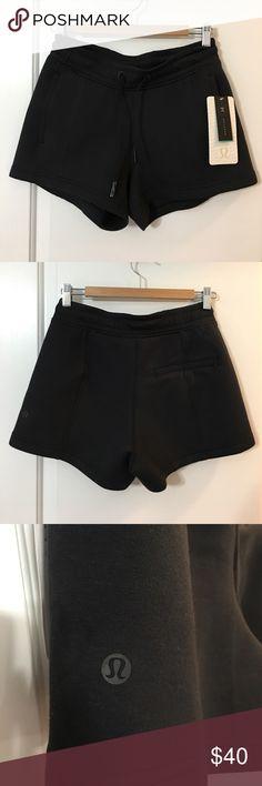 Lululemon Athletica NTS shorts black NWT size 6 Brand new Lululemon Black NTS shorts. lululemon athletica Shorts