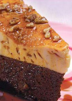 Receta de pastel imposible. Aprende a preparar el pastel imposible o chocoflan de una manera sencilla. ¡Quedará delicioso!