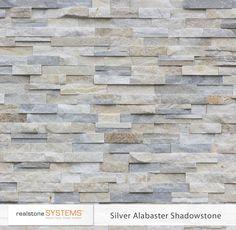 Silver Alabaster Shadowstone Veneer, Shadowstone Thin Stone Veneer, Shadowstone Veneers from Realstone Systems