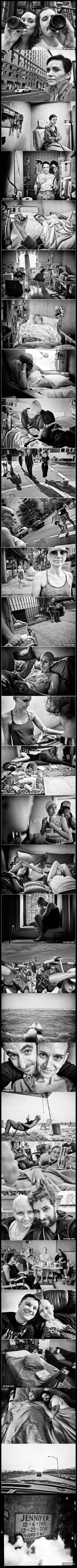 A man's wife was diagnosed with cancer, so he photographed the entire battle in unforgettable pictures