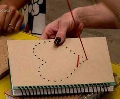 Como fazer: customização capa caderno  (Foto: TV Globo)