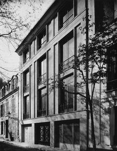 Auguste Perret, Hotel Bressy, Paris, 1928