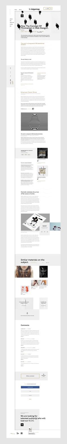 Taigamag on Behance