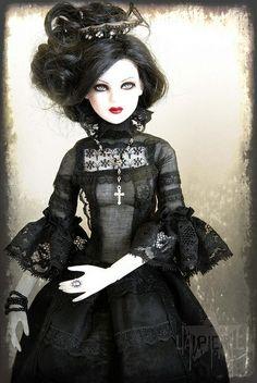 Elegant Goth Doll