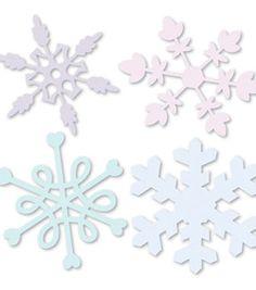 Sizzix® Sizzlits® Die 4PK Snowflakes Set by Emily Humble