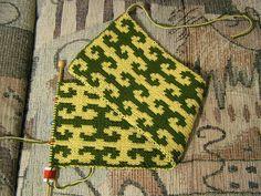 Double knit scarf | Flickr: Intercambio de fotos