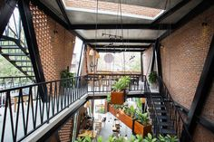 Completed in 2018 in Mỹ An, Vietnam. Images by To Huu Dung. In Vietnam, there are a large number of steel buildings. They can be easily found around the country and have been built for different purposes of...