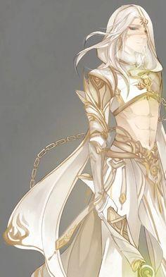 White warrior prince