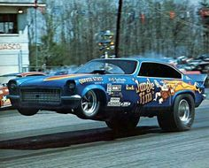 Old school funny car