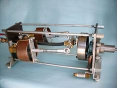Green Steam Engine Home Page = Plans for building a two cylinder steam engine like this are available for purchase.= generate electricity = For electrical generation, use the same electrical system as you would for windmills.= The boiler plans are for a safe water-tube boiler that may be used with a variety of fuels such as gas, wood, pellets, or other bio-fuels. The boiler in the plans is easy to construct with readily available materials. = cylinder can be from two to eight =