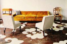 Idee decor per rinnovare un pavimento di legno