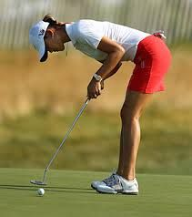 Another Putting stance for Michelle Wie - It's coming around...