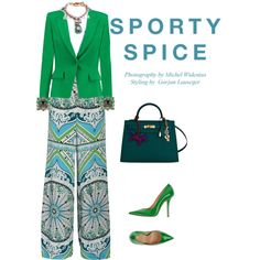 Designer Clothes, Shoes & Bags for Women Emilio Pucci, 3.1 Phillip Lim, Gucci, Givenchy, Yves Saint Laurent, Fashion Looks, Sporty, January 2016, October