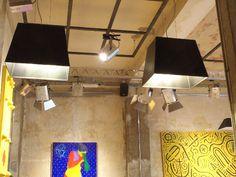 Hanging lamp Gina, Vittorio shoes udine #retaillighting #suspensionlamps