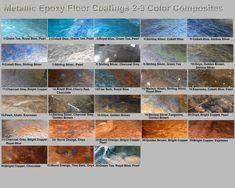 Metallic Mica Epoxy Concrete Garage Floor Countertop Paint Coating Pigment Kit #Unbranded