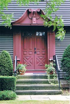 Colonial Authentic Doorways - Period Authentic Connecticut Colonials