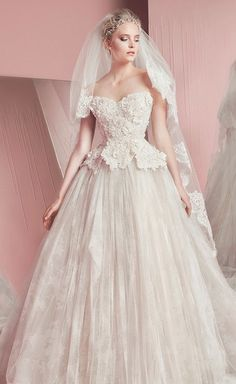 Explore A Variety Of Ball Gown Wedding Dresses With Glamorous Details