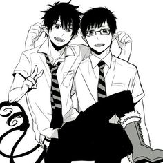 Ao no Exorcist / Rin And Yukio / Blue Exorcist