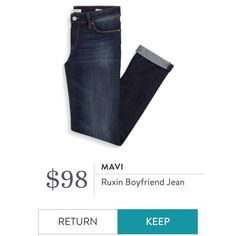 Mavi - Ruxin Boyfriend Jean. I love Stitch Fix! A personalized styling service and it's amazing!! Simply fill out a style profile with sizing and preferences. Then your very own stylist selects 5 pieces to send to you to try out at home. Keep what you love and return what you don't. Only a $20 fee which is also applied to anything you keep. Plus, if you keep all 5 pieces you get 25% off! Free shipping both ways. Schedule your first fix using the link below! #stitchfix @stitchfix. Stitchfix…