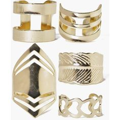 Boohoo Eva Mixed Chevron Adjustable Ring Pack ($8) ❤ liked on Polyvore featuring jewelry, gold, yellow gold jewelry, yellow gold pendant necklace, chevron jewelry, gold pendant necklaces and sparkle jewelry