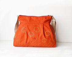 Canvas handbag Fabric handbag Shoulder bag Fabric hobo bag