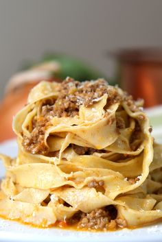 Learn how to make authentic Italian bolognese with Filippo's easy recipe. Traditional bolognese ragù is simple to cook and the perfect accompaniment to tagliatelle.