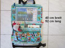 gr.Rücksitztasche mit iPad-Fach,Autotasche XL