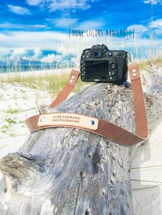 Custom Camera Strap, Leather Camera Strap, Photography Strap, Nikon strap, Canon strap, Sony Camera Strap by theBLUEcoopDOOR on Etsy https://www.etsy.com/listing/485918764/custom-camera-strap-leather-camera-strap
