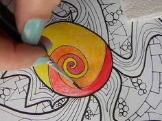 Desarrollo de la Técnica de Coloreado con Lápices Acuarelables, algunos consejitos... Consultas: artemarita@gmail.com FB: marita Burbridge Espel