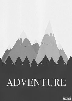 Adventure por Apanona en Etsy