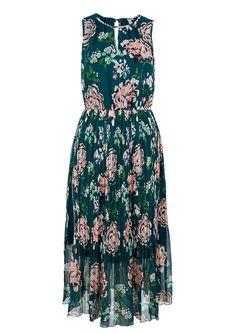 Gemustertes Chiffonkleid von Q/S. Entdecke jetzt topaktuelle Mode für Damen, Herren und Kinder und bestelle online.