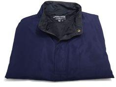 DryJoys By FootJoy XXL Men's Short Sleeve Navy Blue Polyester Pullover 2XL #Dryjoy #Pullover