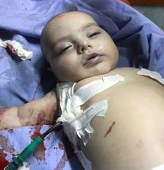 6 months old baby killed by Israel's war plan.. Is he a terrorist? #gaza