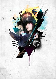 Create This Stylistic Mixed-Media Artwork in Photoshop  Read more at http://photoshoptutorials.ws/photoshop-tutorials/photo-manipulation/create-this-stylistic-mixed-media-artwork-in-photoshop/#xomY47Zqb7fHcdVx.99