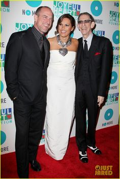 Mariska Hargitay hit the red carpet at the 2013 Joyful Heart Foundation Gala on Thursday (May 9) at Cipriani 42nd Street in New York City. n and her former Law & Order: SVU co-star Christopher Meloni