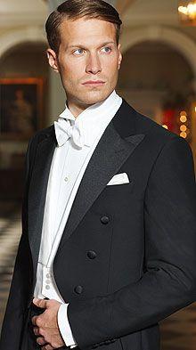 Savile Row white tie