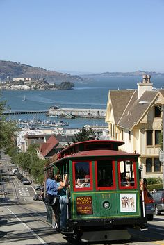 Cable Car on Hyde Street, SF