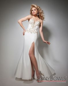 Tony Bowls Evenings TBE21364 #Beautiful #Tony #Bowls #Evening #Gown #Perfect for #Prom. Comes in multiple colors #Dress