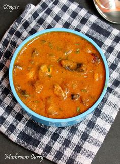 Easy Mushroom Curry / Mushroom Kulambu | You Too Can Cook - Indian Food Recipes