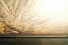 These awe-inspiring photos of the sky were created by using the technique of over lapped multiple exposure that are then skilfully 'stacked' on Photoshop. Colorful Clouds, Sky And Clouds, Ontario, Landscape Photography, Nature Photography, Sky Images, Time Lapse Photography, Multiple Exposure, Long Exposure