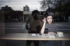 fred herzog self portrait and woman Street Photography People, Photography Projects, Urban Photography, Color Photography, Portrait Photography, Window Photography, Artistic Photography, Fred Herzog, Lise Sarfati