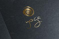 Yoga logo by Sonne on @creativemarket                                                                                                                                                      More