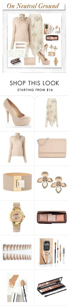 """""""neutral makes a natural beauty"""" by mikaela-foreman ❤ liked on Polyvore featuring Polaroid, White Label, LC Lauren Conrad, Joie, Chloé, Michael Kors, Balenciaga, Roberto Cavalli, Salvatore Ferragamo and Hourglass Cosmetics"""