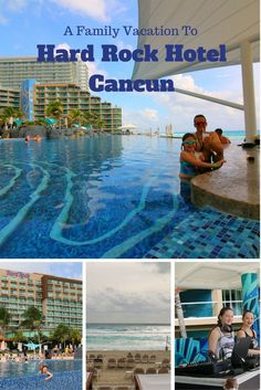 Day 2 Of Our Family Vacation At Host Hotel, Hard Rock Hotel Cancun!
