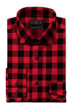 Red flannel checked Shirt Flannel Shirts, Red Flannel, Men Shirts, Tailor Made Shirts, Formal Shirts, White Shirts, Fashion Wear, Shirt Dress, Casual