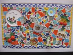 Crafts with Broken Dishes | Mosaics at the New Hampshire State Home Show., Manchester, NH ...
