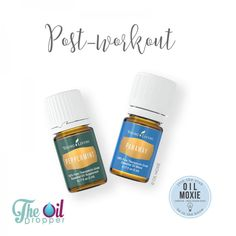 Oils for pre and post work out here on this new blog post: http://www.theoildropper.com/essential-oils-working-out/